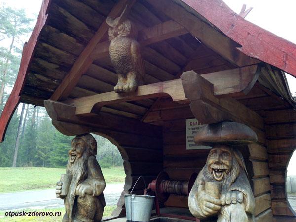 Веселые гномы у волшебного колодца. Экскурсия по Беловежской Пуще, Беларусь