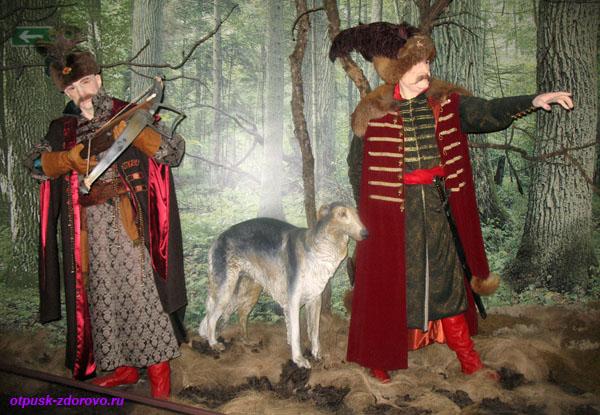 Охота на тура. Музей Природы в Беловежской Пуще
