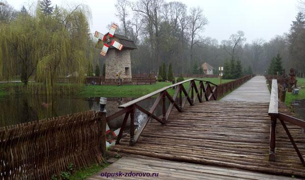 Мост Желаний. Беловежская Пуща. Резиденция Деда Мороза, Беларусь