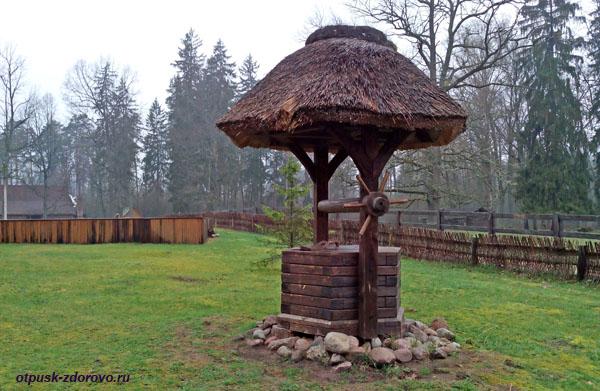 Волшебный колодец. Беловежская Пуща. Резиденция Деда Мороза, Беларусь