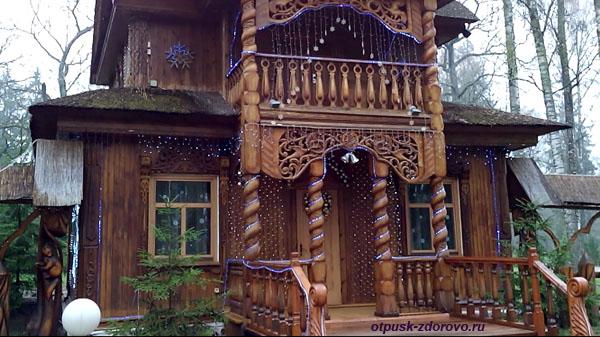 Беловежская Пуща. Резиденция и дом Деда Мороза, Беларусь