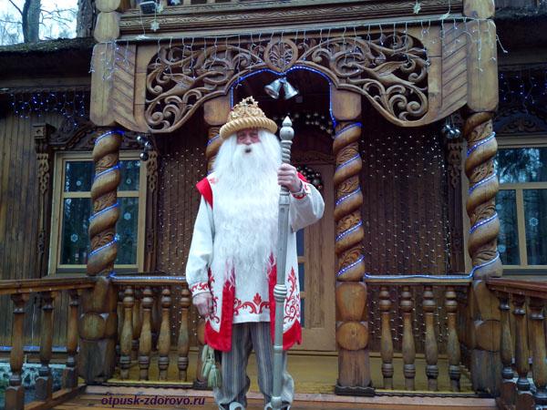 Дед Мороз. Беловежская Пуща. Резиденция Деда Мороза, Беларусь