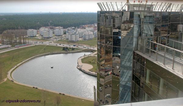 Смотровая площадка белорусской национальной библиотеки, Минск