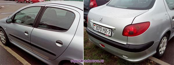 Аренда машин в Минске