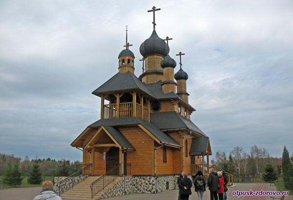 Деревянная церковь Иоанна Крестителя, Дудутки, Беларусь