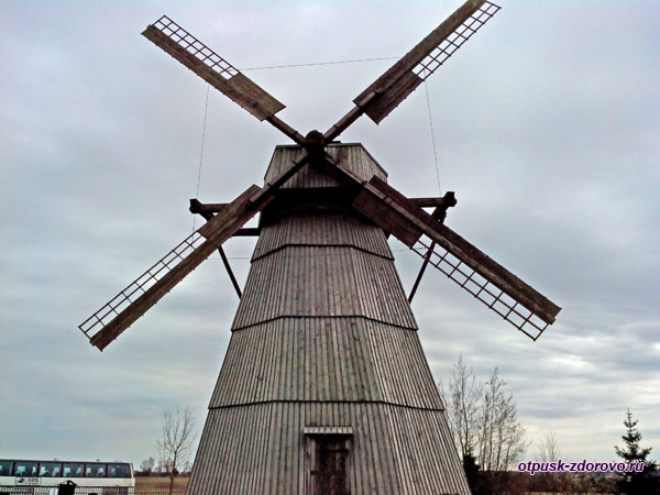 Ветряная мельница, Дудутки, Беларусь