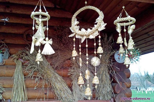 Изделия из соломы, Дудутки, Беларусь