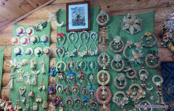 Сувениры из соломы, Дудутки, Беларусь