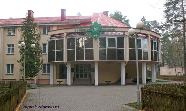 Корпус №4. Гостиничный комплекс Каменюки на территории Беловежской Пущи