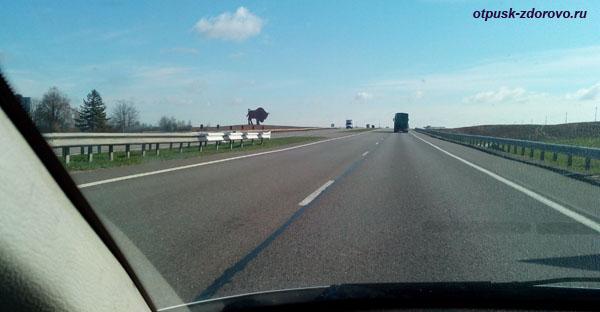 Трасса М1 Минск-Брест, Беларусь (Олимпийка)
