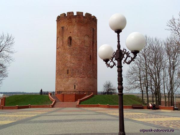 Каменецкая Башня в городе Каменец, Брестская область