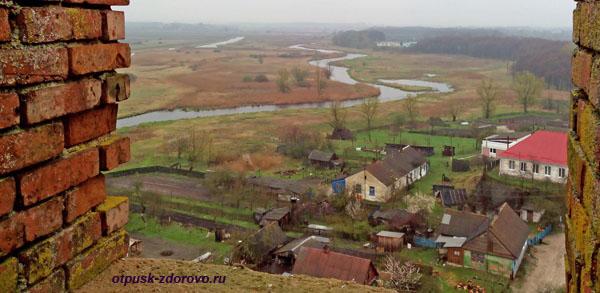 Город Каменец и окрестности. Вид с Каменецкой Башни