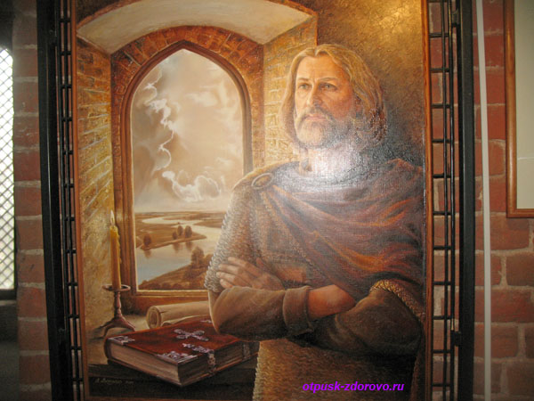 Портрет основателя города Каменец Олексы (Алексы)