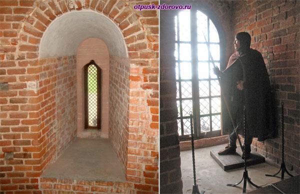 Музей Каменецкая башня, бойницы