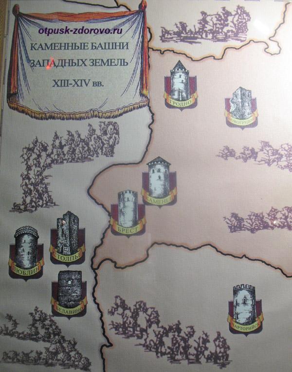 Башни Донжон Белоруссии