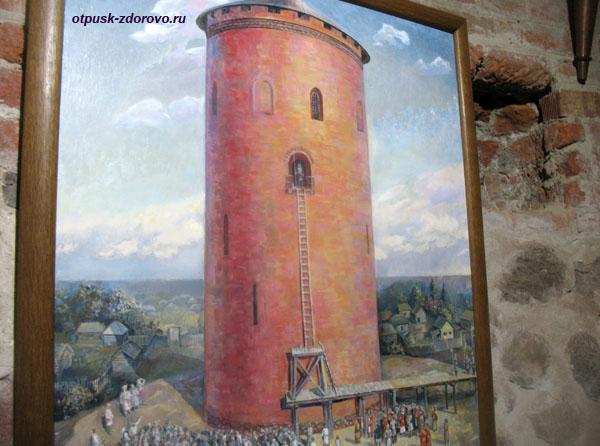 Музей Каменецкая башня, Каменец, Беларусь