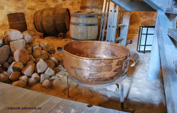Музей Каменецкая башня, подвал