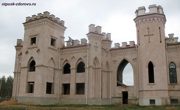 Коссовский замок - Дворец Пусловских, Коссово, Беларусь