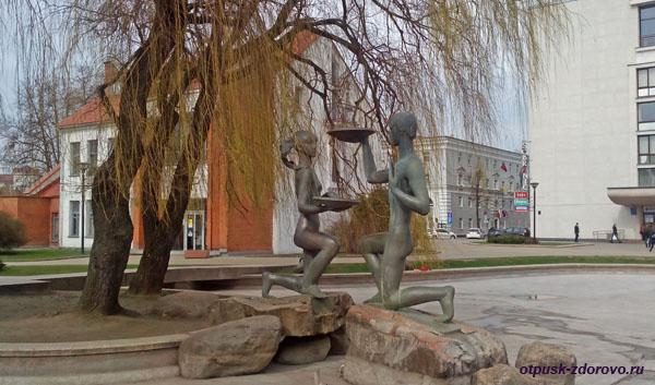 Фонтан Юность, Минск, Беларусь