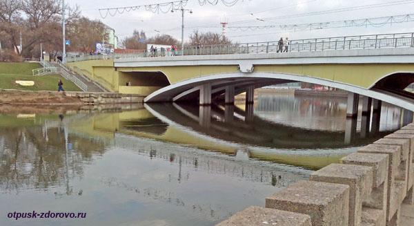 Мост через Свислочь, Минск, Беларусь