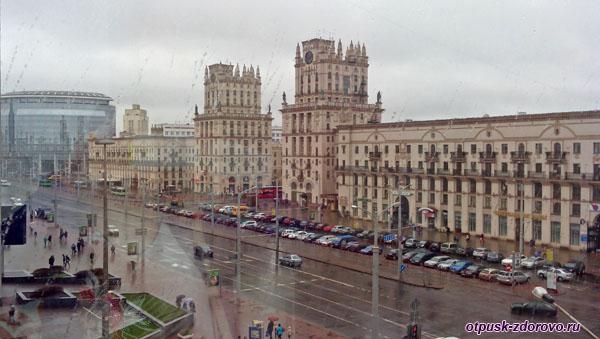 Врата города, Минск, достопримечательности
