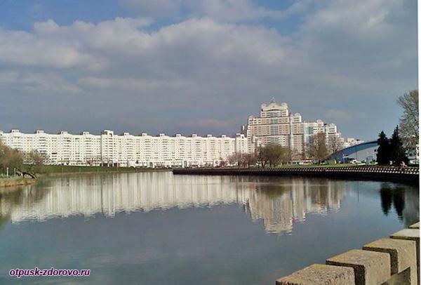 Река Свислочь, Минск, достопримечательности