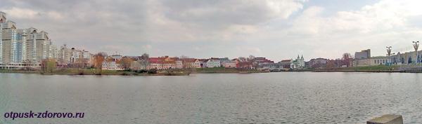 Река Свислочь, Троицкое предместье, Минск, достопримечательности