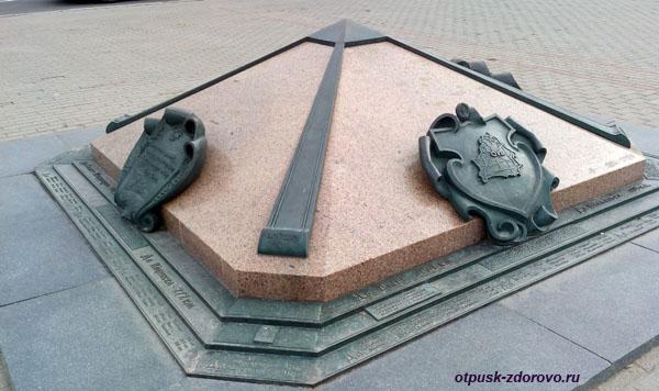 Нулевой километр, Минск, достопримечательности