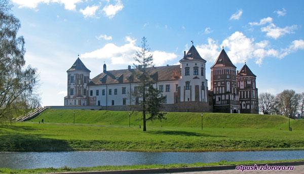 Мирский замок, Мир, Беларусь
