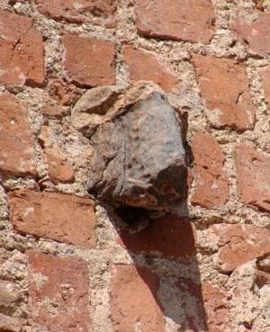 Голова барана, Мирский замок, Мир, Беларусь