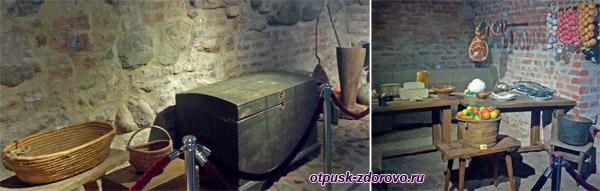 Кладовые подвалы, Мирский замок, Мир, Беларусь