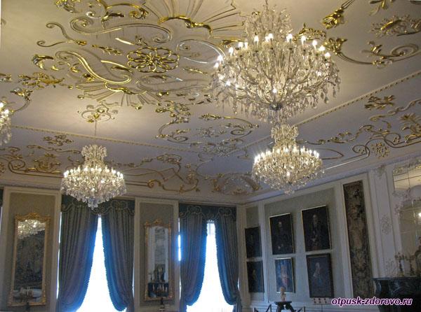 Дворцовые интерьеры, Мирский замок, Мир, Беларусь