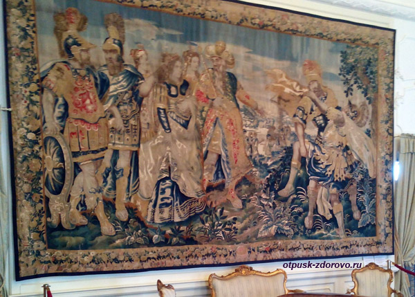 Старинные гобелены, Мирский замок, Мир, Беларусь