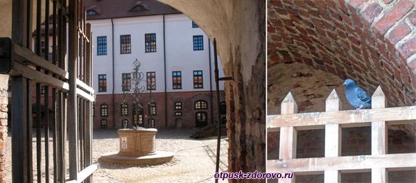 Внутренний двор, Мирский замок, Мир, Беларусь