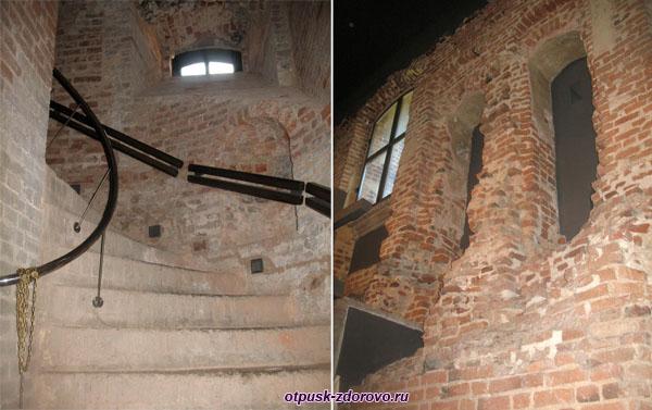 Внутренные переходы, Мирский замок, Мир, Беларусь