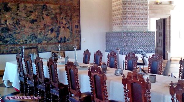 Столовый зал, Мирский замок, Мир, Беларусь