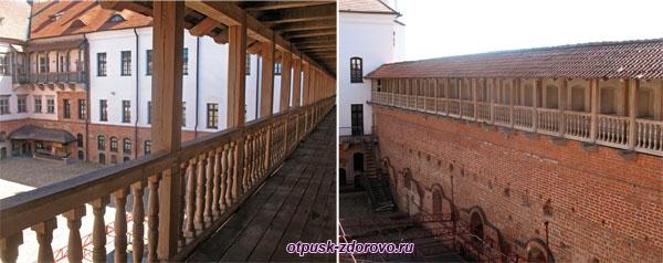 Переходы по крепостным стенам, Мирский замок, Мир, Беларусь