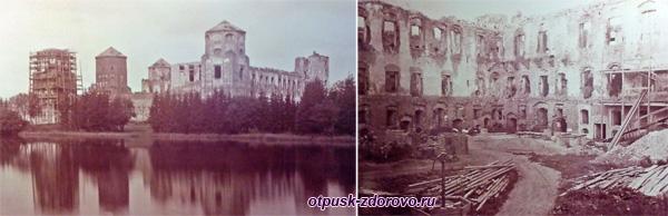 Руины Мирского замка, Мир, Беларусь