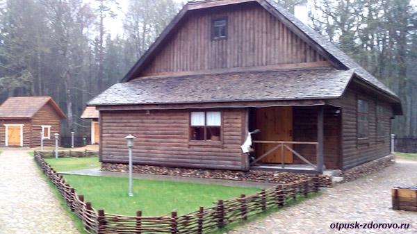 Аутентичный дом. Музей народного быта и старинных технологий в Беловежской Пуще