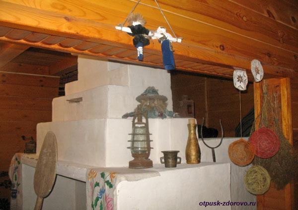 Печка. Музей народного быта и старинных технологий в Беловежской Пуще