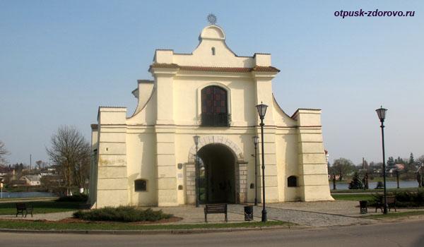 Слуцкая брама, Достопримечательности, Несвиж, Беларусь