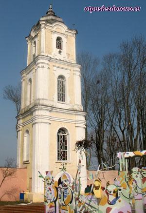 Монастырь бенедиктинок, Достопримечательности, Несвиж, Беларусь