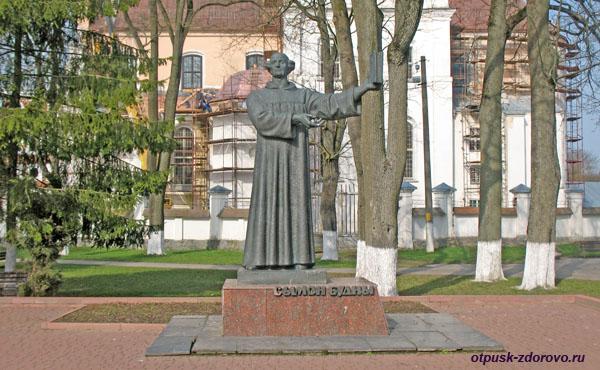 Памятник Сымон Будны (Симон Будный), Достопримечательности, Несвиж, Беларусь