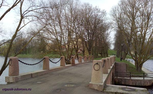Мост, дамба. Несвижский Дворцово-Парковый комплекс, Беларусь