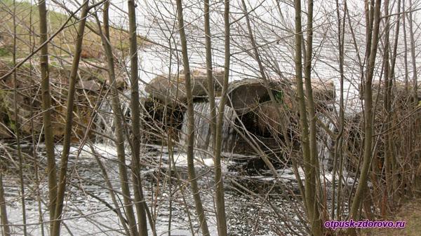 Водопад. Несвижский Дворцово-Парковый комплекс, Беларусь