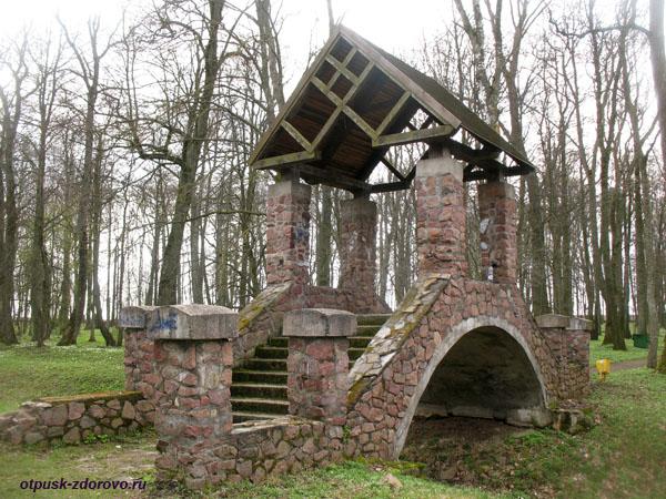 Мост с аркой. Несвижский Дворцово-Парковый комплекс, Беларусь