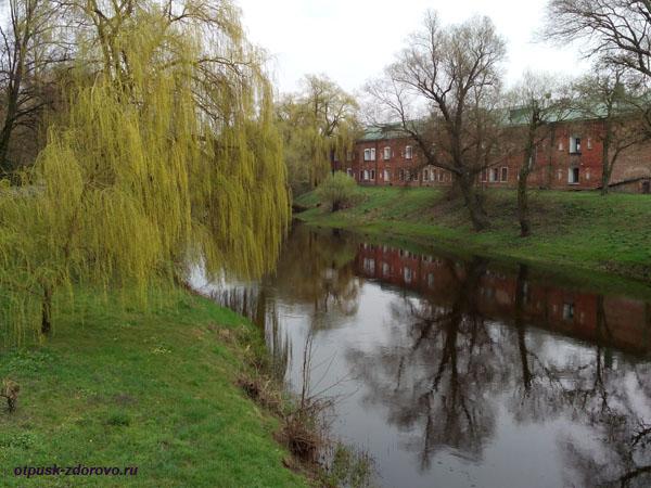 Река Мухавец и музей истории и обороны Брестской Крепости, Беларусь