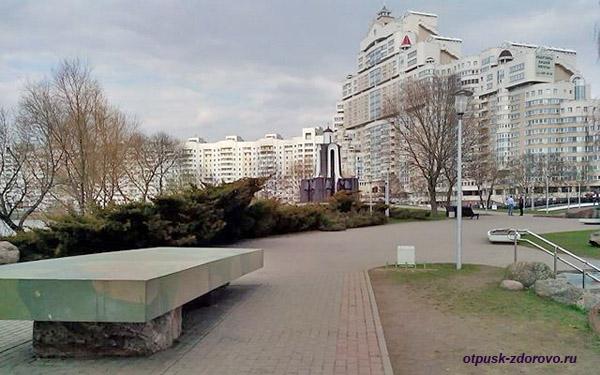 Мемориал Остров Слез, Минск, Беларусь