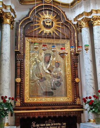 Минская икона Божьей Матери, Свято-Духов кафедральный собор в Минске, Беларусь