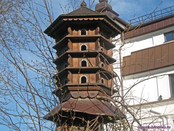 Необычная кормушка, Свято-Елисаветинский монастырь, Минск , Беларусь